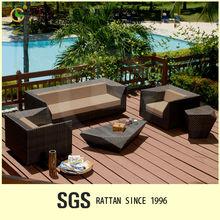 Elegant Garden Decoration Waterproof Fabric Colo Combinations For Sofa Set LG-SF2303