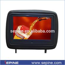 motion sensor 7''/9'' usb taxi/car advertising screen