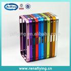 Bright metal aluminum frame cover cell phone case bumper