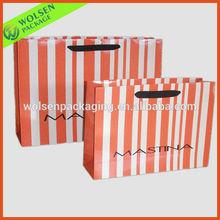 Full color printed paper shopping bag cloth bag