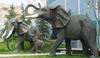 Large Size Bronze Elephant Sculpture For Urban Decoration