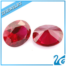 good polished synthetic wax casting ruby