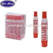 Two end simple non toxic clear liquid glue Bastelkleber colle liquide