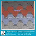 SGB hexagonal asphalt roofing sheet