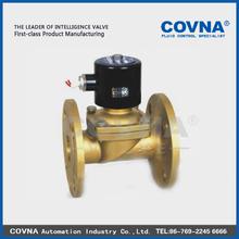 2/2 direct lifting diaphragm normal close solenoid valve open on zero pressure medium air, water, oil 1 inch solenoid valve