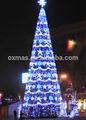 navidad 2014 nuevo diseño al aire libre led del árbol de navidad