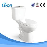 Chaozhou two piece ceramic bathroom water closet
