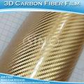 Sino etiqueta do carro 1.52x30m 5x98ft fibra de carbono 3d chrome adesivos de carro