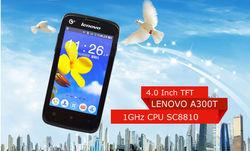China original Brand lenovo a300t 4.0inch single core cell phone