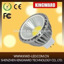 New cob 5w mr16 led spot light/mr16 led bulb/12v mr16 led dimmable