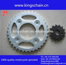 brazil motorcycle kit transmission CG125 Motorcycle chain sprocket sets