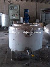 New stainless steel Batch milk pasteurizer tank /fresh milk pasteurization tank