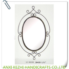 LC-66106 antique wrought iron black oval wall decoration