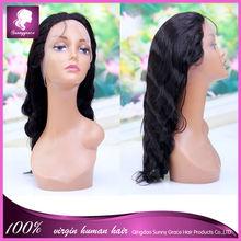 Hot Sale Full Lace Wig peruvian Virgin Silk Top Glueless Wig, High Quality Silk Top Glueless Wig