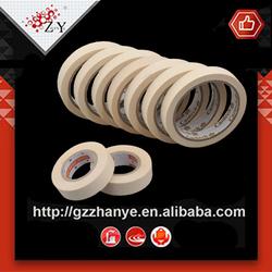 guangzhou hot sale cheap 24mm auto paint self-adhesive rice paper masking tape