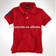 pupil uniform polo shirt , fancy cotton Primary School uniforms