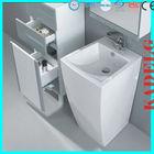 lowes pedestal bathroom sinks Modern design Quick installation G002K