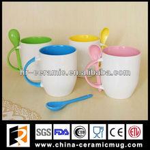 14oz sublimation inner color mug/ blank mugs for sublimation wholesale