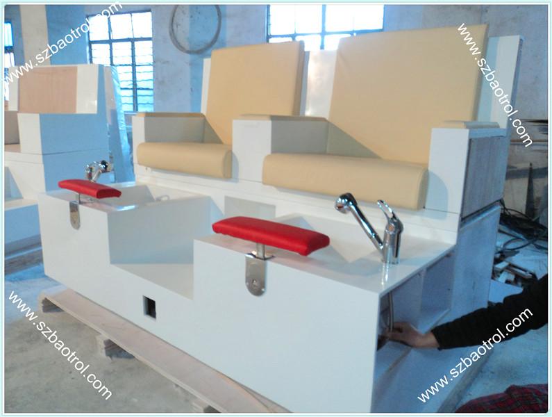 Salão de beleza mobiliário tentar& manicure pedicure cadeira bancos