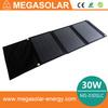 solar panel 12v 10w 30W Folding Solar Charger Panel easy carry solar panel