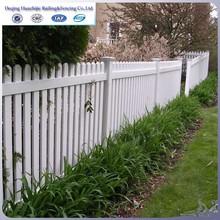 PVC plastic fencing for garden
