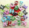 Free shipping by DHL 8mm rhinestone slide name bracelet letters