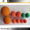 Putzmeister concrete parts concrete pump sponge cleaning balls