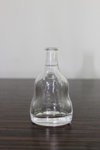100ml CLEAR RUM OR VODKA GLASS BOTTLE