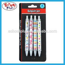 CMYK printed wholesale cheap ballpoint pen manufacturer