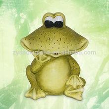Garden ornaments frog, Magnesia frog garden ornaments