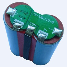 electric tools battery 2S1P Li-ion Battery Pack 7.4V/2.6AH