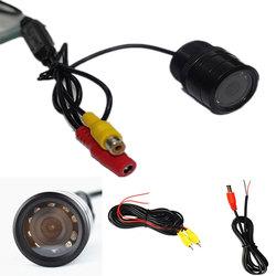 HD IR Night Vision Rear View Forward Camera for Car Monitor 28mm hole saw mount 120 Degree