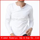 Tight plain t blank 95 cotton 5 spandex t shirts wholesale