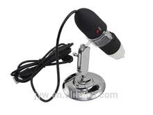 25-200X digital camera USB LED light microscope