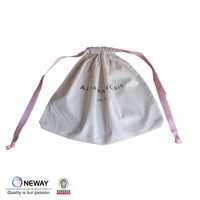 2014 Wholesale Packaging Pouch Bag,cotton muslin drawstring bag
