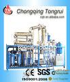 High Vacuum Distillation / huile Portable purificateur / jaune huile de Base de noir huile moteur Distillation usine