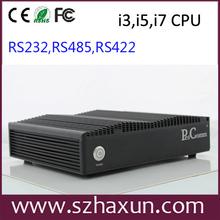 El último de la computadora k700 de hardware de pc industrial, 12v incrustado pc, industrial pc precio, me 3, me 5, i7 cpu, hm77 chipset, gpio, rs485, rs422,8gb