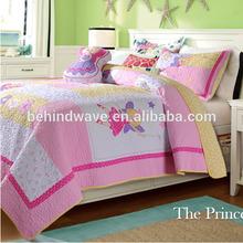 Applique Princess Hand Embroidery Bedding Set