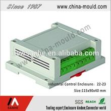 ABS plastic industrial control enclosure matched terminal block