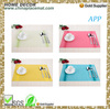 Modern design colorful placemat/ table mat/ eat mat