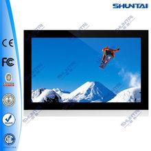 46 inch wall mounting video advertising display tv usb network smart media video advertising display tv