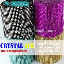 Acrylic 4.5''X10 yards diamond wrap,diamond platic roll 30 feet