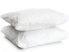 pure white microfiber pillow
