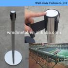 Stainless Steel Retractable Belt Post