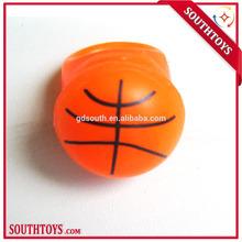 finger ring flashing led light basketball shape ring