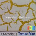 Cmzg- acrílico 9001 no- tóxico para la salud interior crack de arte de pintura textura