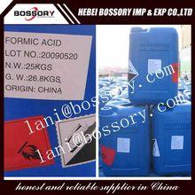 hot sale professinal manufacturer 10 years cas 64-18-6 formic acid 85