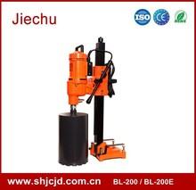 BL-200 portable deep hole concrete diamond concrete asphalt core cutting machine