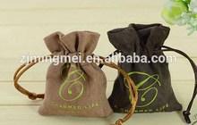 Customized Logo Wholesale colorful Eco-Friendly Jute bag / jute wine bag