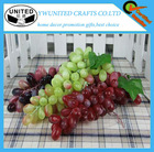 Colorfully decoration fruits plastic crafts fake grape bunch